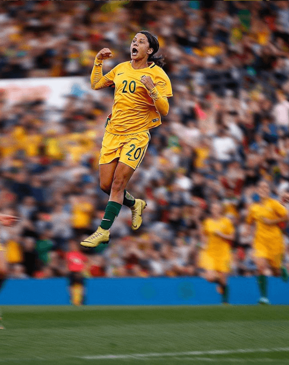 Sam Kerr 2019 Woman's World Cup