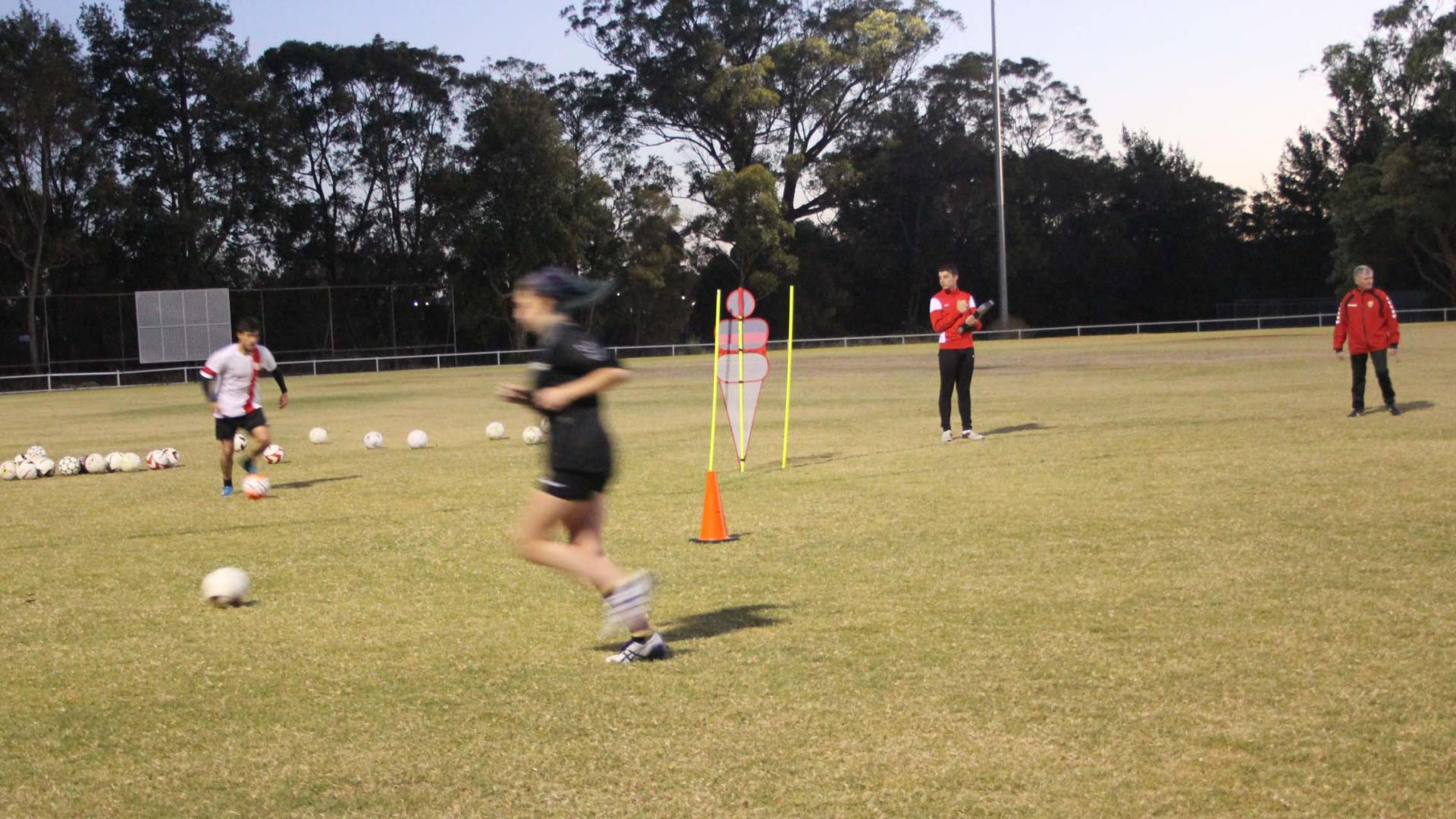Soccer Skill development