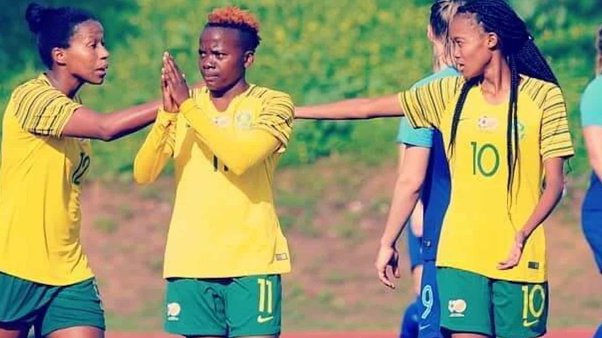 Striker Star Thembi Kgatlana